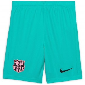 NIKE BARCELONE SHORT THIRD JUNIOR VERT 2020/2021