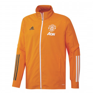 ADIDAS MANCHESTER UNITED PRE JKT ORANGE 2020/2021