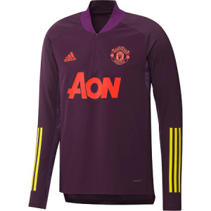 ADIDAS MANCHESTER UNITED TRG TOP BORDEAUX 2020/2021
