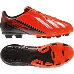 ADIDAS F5 TRX FG JUNIOR ORANGE/NOIR