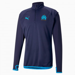 PUMA OM WARMUP TRG TOP MARINE 2021