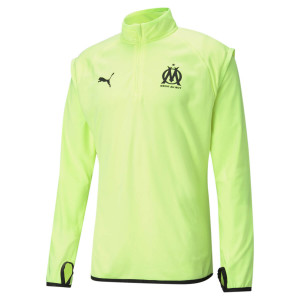 PUMA OM WARMUP TRG TOP FLUO 2021