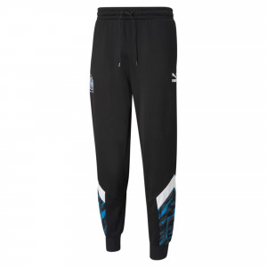 PUMA OM ICONIC GRAPHIC PANT NOIR 2021