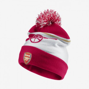 NIKE ARSENAL BONNET ROUGE