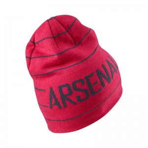 NIKE ARSENAL BONNET REVERSIBLE ROUGE
