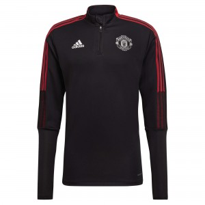 ADIDAS MANCHESTER UNITED TRG TOP NOIR 2021/2022
