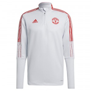 ADIDAS MANCHESTER UNITED TRG TOP GRIS 2021/2022