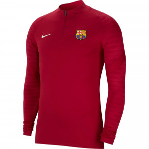 NIKE BARCELONE TRG TOP ROUGE 2021/2022