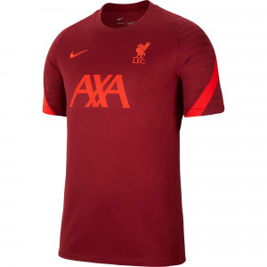 NIKE LIVERPOOL TRG JSY ROUGE 2021/2022