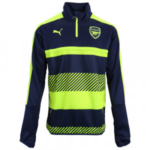 PUMA ARSENAL TRAINING TOP MARINE/FLUO 2016/2017
