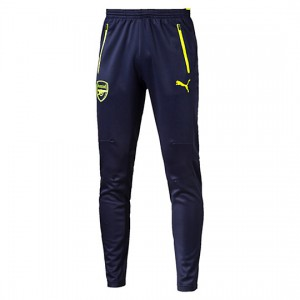 PUMA ARSENAL TRAINING PANT MARINE/FLUO 2016/2017