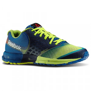 REEBOK ONE GUIDE BLEU/FLUO